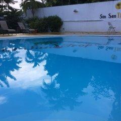 Отель San San Tropez Ямайка, Порт Антонио - отзывы, цены и фото номеров - забронировать отель San San Tropez онлайн бассейн фото 3