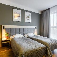 Отель Апарт-отель City Comfort Польша, Варшава - 8 отзывов об отеле, цены и фото номеров - забронировать отель Апарт-отель City Comfort онлайн комната для гостей фото 3