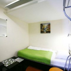 Гостиница PEOPLE Business Novinsky комната для гостей фото 6