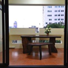 Отель True Siam Phayathai Hotel Таиланд, Бангкок - 1 отзыв об отеле, цены и фото номеров - забронировать отель True Siam Phayathai Hotel онлайн балкон