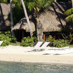 Отель Sofitel Bora Bora Marara Beach Hotel Французская Полинезия, Бора-Бора - отзывы, цены и фото номеров - забронировать отель Sofitel Bora Bora Marara Beach Hotel онлайн пляж фото 2