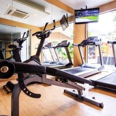 Grand Scenaria Hotel Pattaya фитнесс-зал фото 4