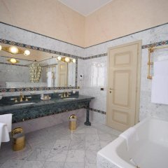Hotel Villa La Bollina Серравалле-Скривия ванная фото 2
