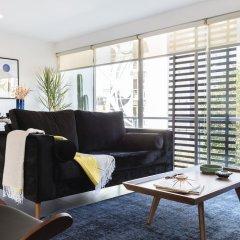 Апартаменты Bright 2BR Condesa Apartment With Balcony Мехико интерьер отеля