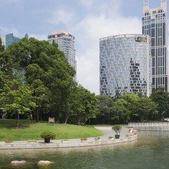 Отель Langham Xintiandi Шанхай приотельная территория фото 2