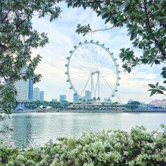 Отель M Social Singapore Сингапур, Сингапур - 2 отзыва об отеле, цены и фото номеров - забронировать отель M Social Singapore онлайн приотельная территория фото 2