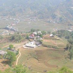 Отель Golden Rice Garden Sapa Шапа приотельная территория