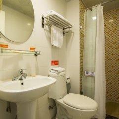 Отель Home Inn (Xi'an Xiwu Road Provincial Government North Gate) Китай, Сиань - отзывы, цены и фото номеров - забронировать отель Home Inn (Xi'an Xiwu Road Provincial Government North Gate) онлайн ванная