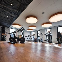Отель Jaz Amsterdam Амстердам фитнесс-зал фото 3
