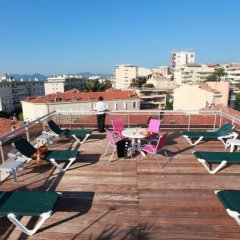 Отель Club Maintenon Франция, Канны - отзывы, цены и фото номеров - забронировать отель Club Maintenon онлайн фитнесс-зал фото 4