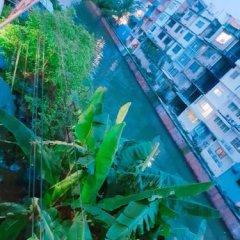 Baan Nampetch Hostel Бангкок приотельная территория