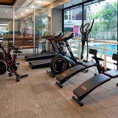 Отель Summit Pavilion Бангкок фитнесс-зал