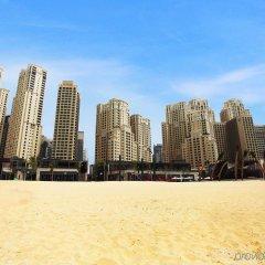 Отель Amwaj Rotana, Jumeirah Beach - Dubai пляж