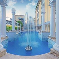 Отель Aurora Terme Италия, Абано-Терме - отзывы, цены и фото номеров - забронировать отель Aurora Terme онлайн бассейн фото 3