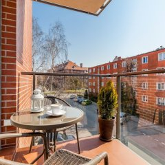 Апартаменты Happy Stay OldNova Luxury Apartment 343 Гданьск балкон