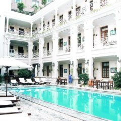 Grand Hotel Saigon бассейн фото 3