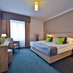Отель Atlantic Hotel Чехия, Прага - 11 отзывов об отеле, цены и фото номеров - забронировать отель Atlantic Hotel онлайн комната для гостей фото 2