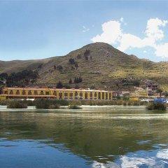 Отель Sonesta Posadas Del Inca Lago Titicaca Пуно приотельная территория