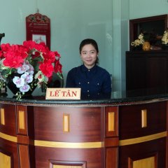 Отель H&T Hotel Daklak Вьетнам, Буонматхуот - отзывы, цены и фото номеров - забронировать отель H&T Hotel Daklak онлайн интерьер отеля
