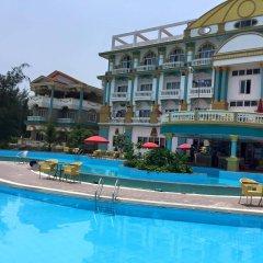 Queen Hotel Thanh Hoa бассейн