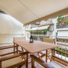 Апартаменты Comfy Apartment for 4 People Афины балкон