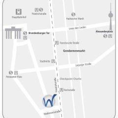 Отель Select Checkpoint Charlie Берлин городской автобус