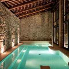 Отель Castello di Lispida Италия, Региональный парк Colli Euganei - отзывы, цены и фото номеров - забронировать отель Castello di Lispida онлайн бассейн фото 2