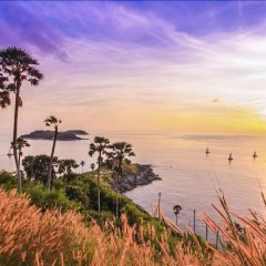 Отель Chanalai Hillside Resort, Karon Beach пляж