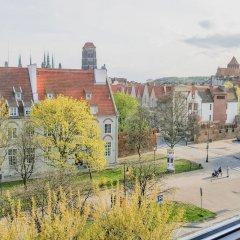 Отель Midtown Apartments Польша, Гданьск - отзывы, цены и фото номеров - забронировать отель Midtown Apartments онлайн балкон