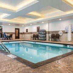 Отель Comfort Suites Columbus Airport США, Колумбус - отзывы, цены и фото номеров - забронировать отель Comfort Suites Columbus Airport онлайн бассейн
