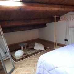 Отель Granny's House Сполето сейф в номере