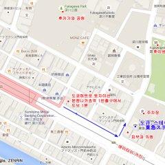 Отель Tokyu Stay Monzen-Nakacho городской автобус