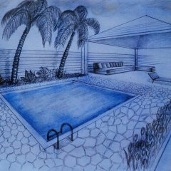 Отель Kalan Villa бассейн