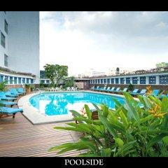 Отель MONTIEN Бангкок балкон