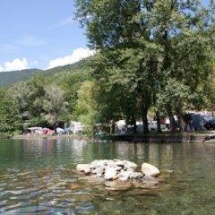 Отель Camping La Quiete Италия, Вербания - отзывы, цены и фото номеров - забронировать отель Camping La Quiete онлайн приотельная территория фото 3