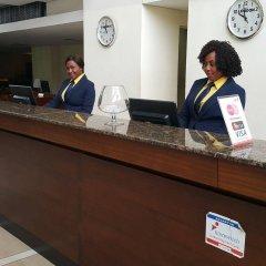 Tinapa Lakeside Hotel интерьер отеля
