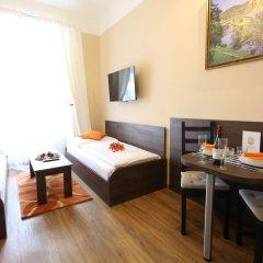 Отель Residence Milada Чехия, Прага - отзывы, цены и фото номеров - забронировать отель Residence Milada онлайн комната для гостей фото 4