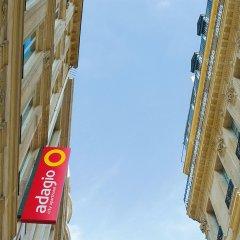 Отель Aparthotel Adagio Paris Opéra Франция, Париж - 1 отзыв об отеле, цены и фото номеров - забронировать отель Aparthotel Adagio Paris Opéra онлайн вид на фасад