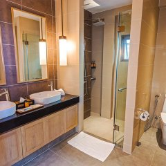 Отель Вилла Casabay Luxury Pool ванная