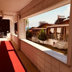 Erkin Beach Club Hotel балкон