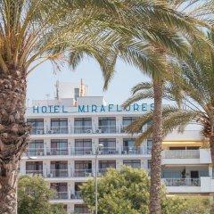 Hotel Amic Miraflores пляж