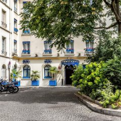 Отель Villa Alessandra Париж парковка