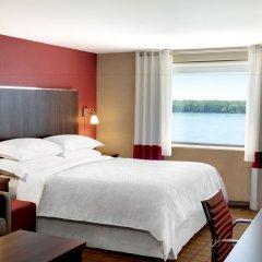 Отель Four Points by Sheraton Niagara Falls США, Ниагара-Фолс - отзывы, цены и фото номеров - забронировать отель Four Points by Sheraton Niagara Falls онлайн комната для гостей
