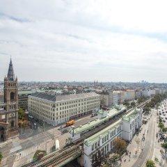 Отель Skyflats Vienna Австрия, Вена - отзывы, цены и фото номеров - забронировать отель Skyflats Vienna онлайн балкон