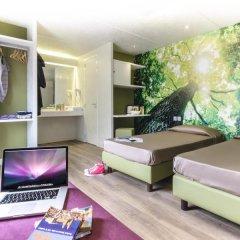 Отель Camping Village Roma Улучшенное бунгало с различными типами кроватей фото 10