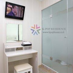 Отель K-Pop Residence Myeong Dong Ii Сеул ванная