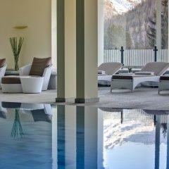 Отель Steigenberger Grandhotel Belvedere Швейцария, Давос - 1 отзыв об отеле, цены и фото номеров - забронировать отель Steigenberger Grandhotel Belvedere онлайн бассейн фото 3