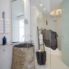 Отель Villa Etheras Греция, Остров Санторини - отзывы, цены и фото номеров - забронировать отель Villa Etheras онлайн ванная фото 2