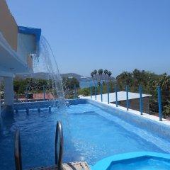 Hotel Corona Zihua Сиуатанехо бассейн