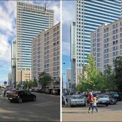 Отель P&O Apartments Emilii Plater Польша, Варшава - отзывы, цены и фото номеров - забронировать отель P&O Apartments Emilii Plater онлайн парковка